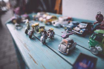 retro autos speelgoed babykamer