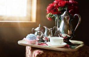 ouderwets servies romantisch