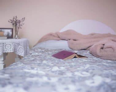 romantische slaapkamer sfeer interieur