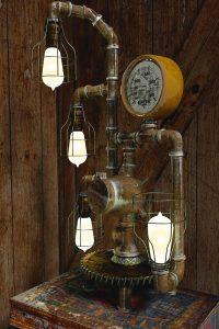 industriële lamp woonstijl