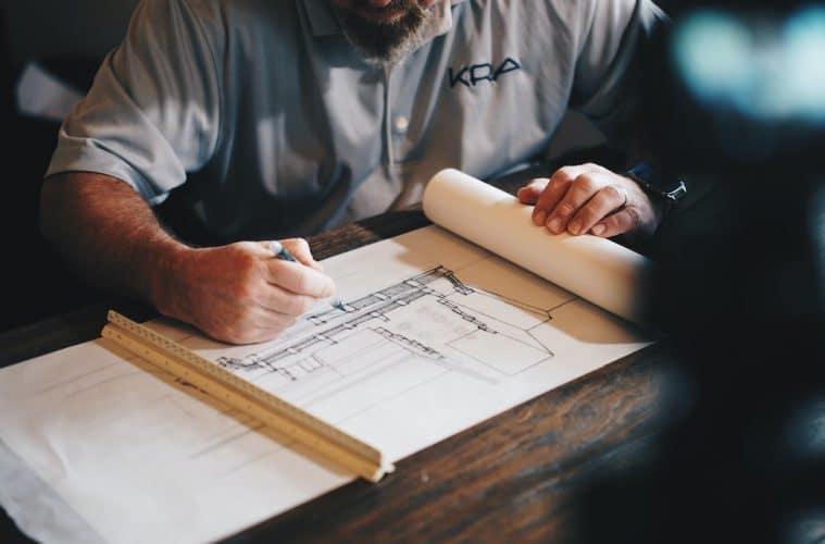 bouwkundige tekening