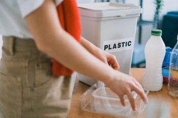 plastic op kantoor